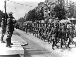 marcherende soldaten