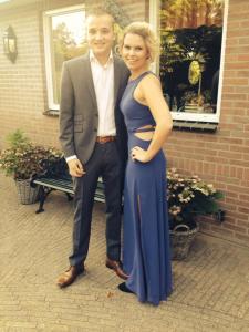 Carola met Ruud 12 september 2014