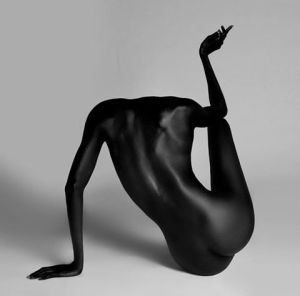 zwarte foto © AHMAD BARBER jpg
