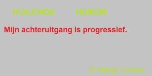 Mijn achteruitgang is progressief