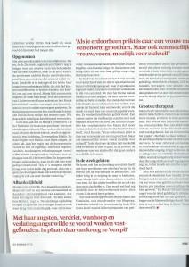 tweede bladzijde NIW