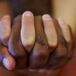 zwart wit hand