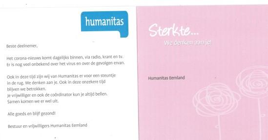 humanitas blijf gezond